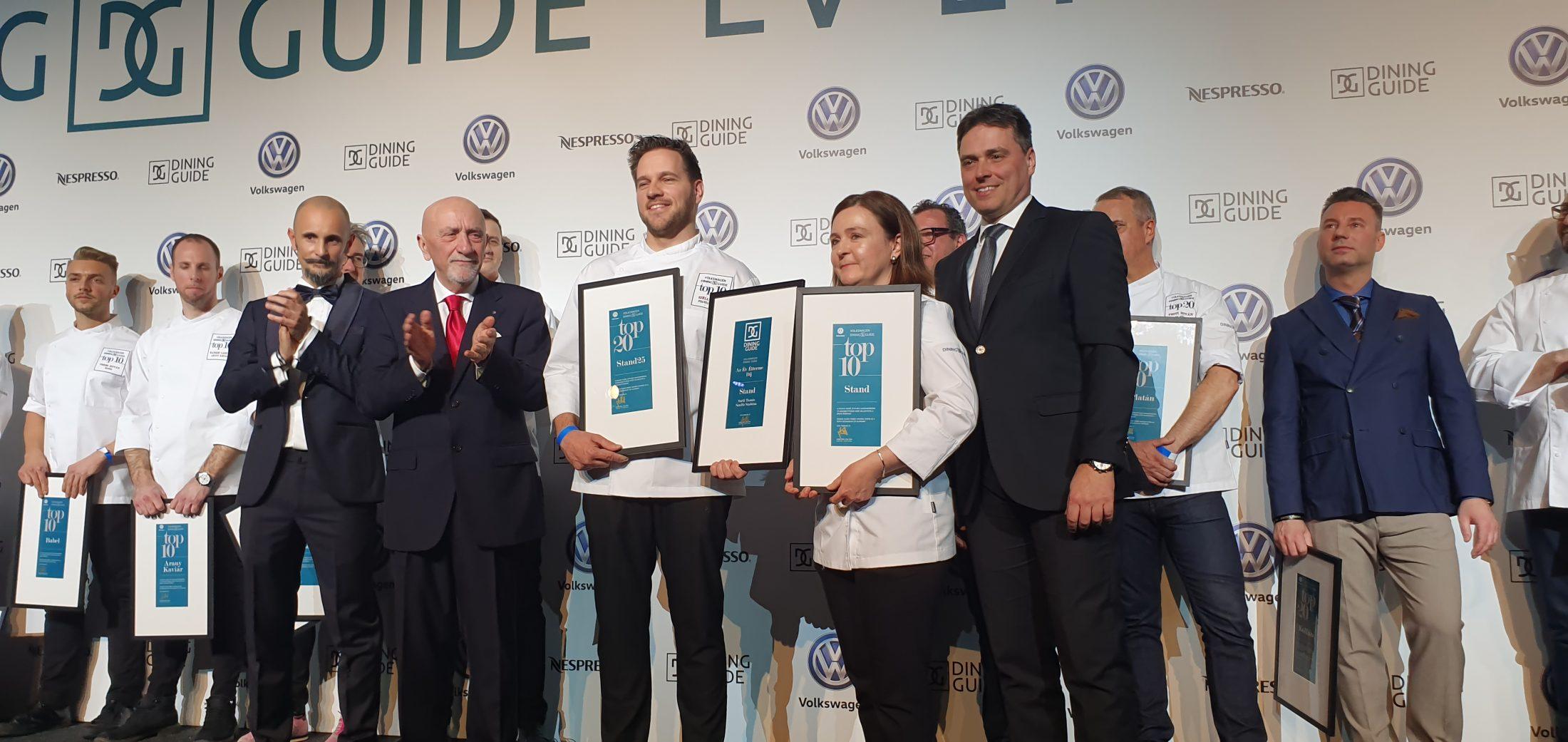 Íme, a Volkswagen-Dining Guide Év Étterme Gála idei eredményei!