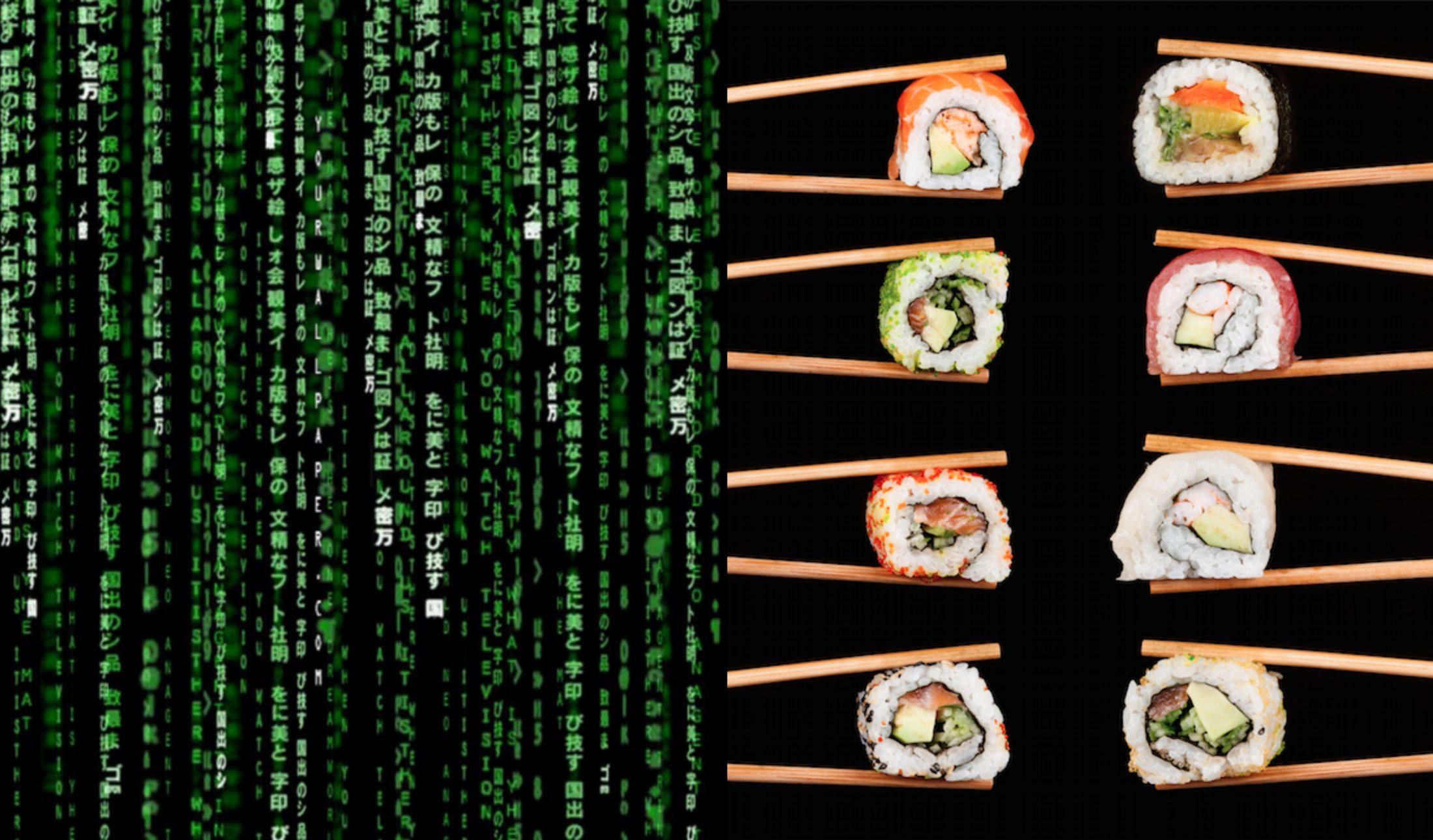 Sci-fi vs. sushi: A Mátrix című film legendás kódjainak titka - Dining Guide