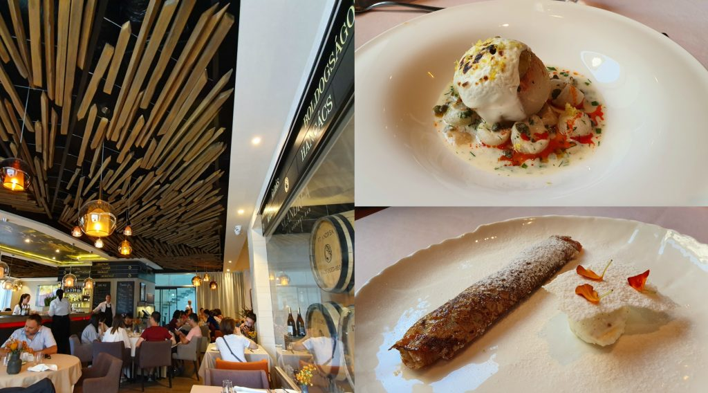 Görcsleves gourmet módra? Barna Ádám úton hazafelé – Ebéd a St. Andreában - Dining Guide