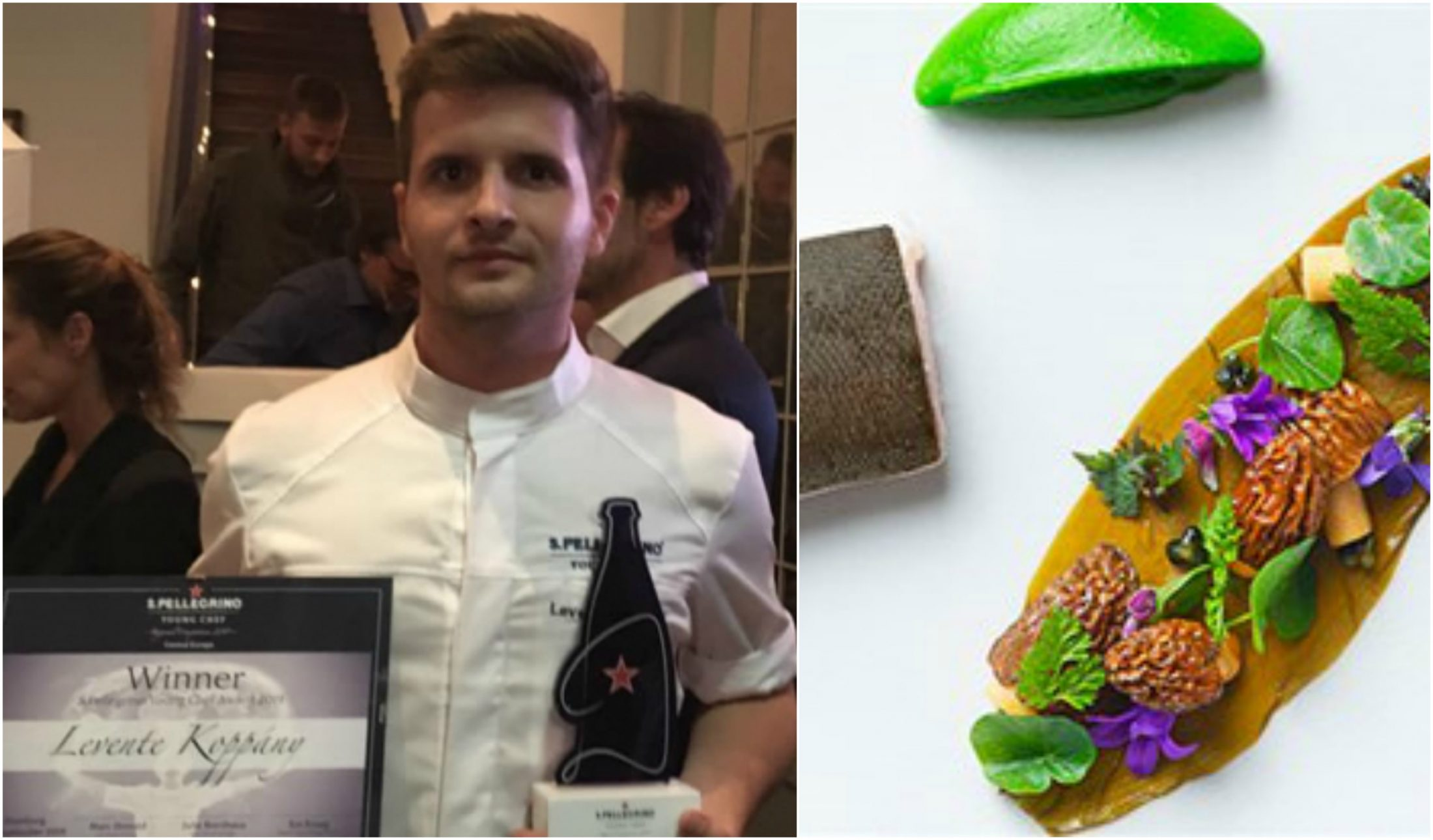 Új reménység: Koppány Levente megnyerte a a S.Pellegrino Young Chef regionális döntőjét!