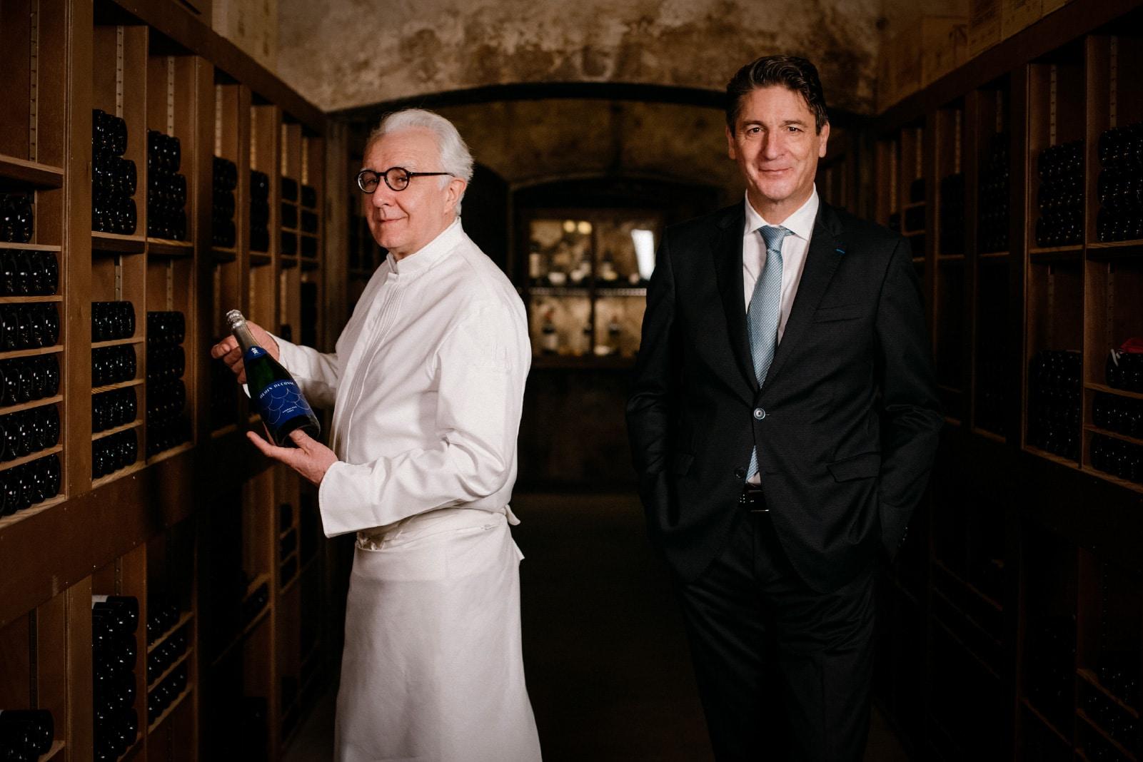 Champagne, prosecco, frizzante, ugyan... Buborékos szaké Alain Ducasse-tól - Dining Guide