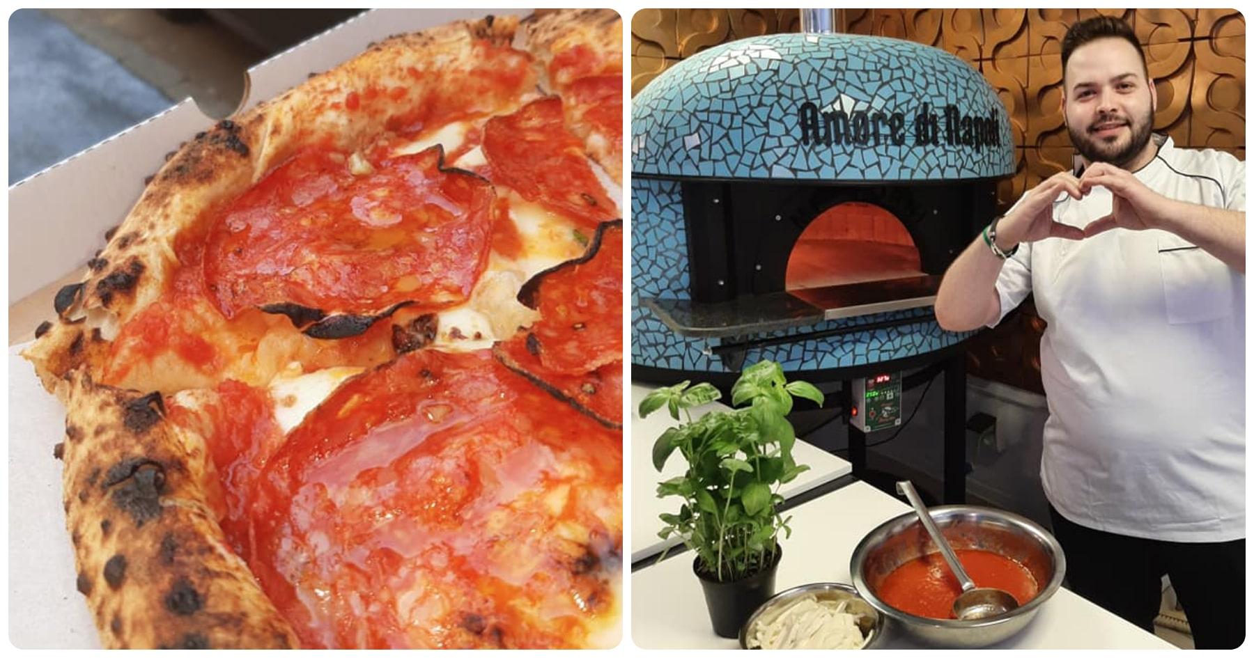 Nápolyi pizza remeklés Újbudán: az Amore di Napoli kemencéje tíz napja izzik – és ez csak a kezdet - Dining Guide